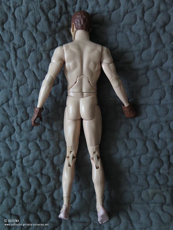Rorschach | DC Direct body (full back view)