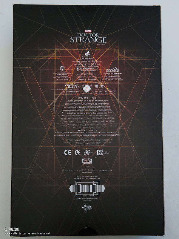 Dr. Strange | Box (back)