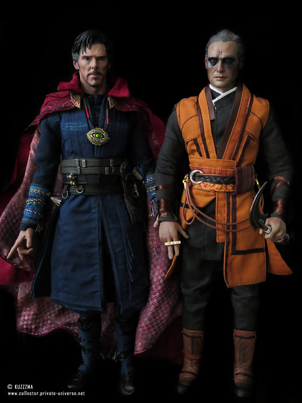 Dr. Strange and his enemy Kaecilius