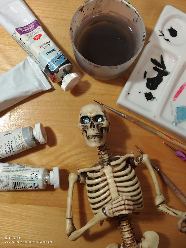Discworld Death (OOAK) | Work in progress - Eyes