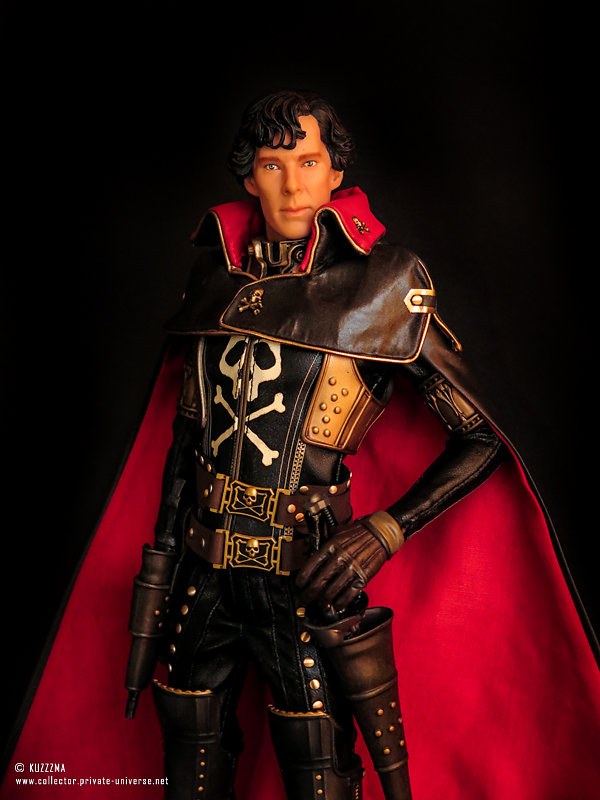 "BCS Sherlock on Captain Harlock body: ""initially, he wanted to b"