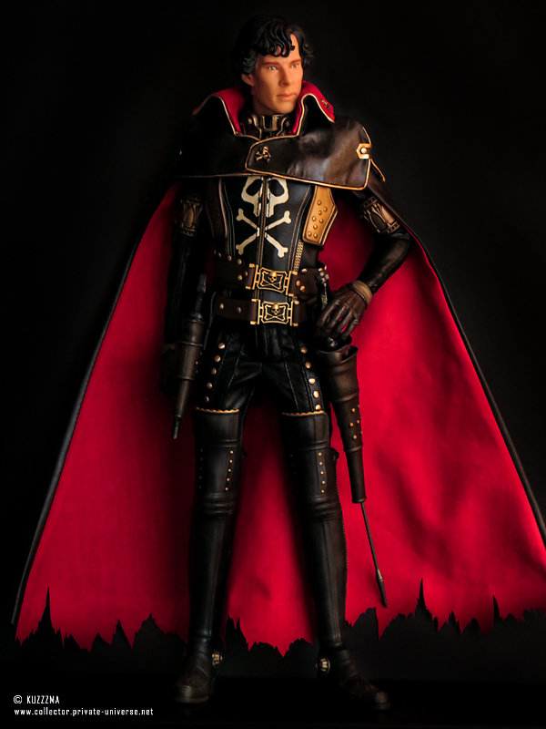 """BCS Sherlock on Captain Harlock body: """"initially, he wanted to be a pirate"""""""