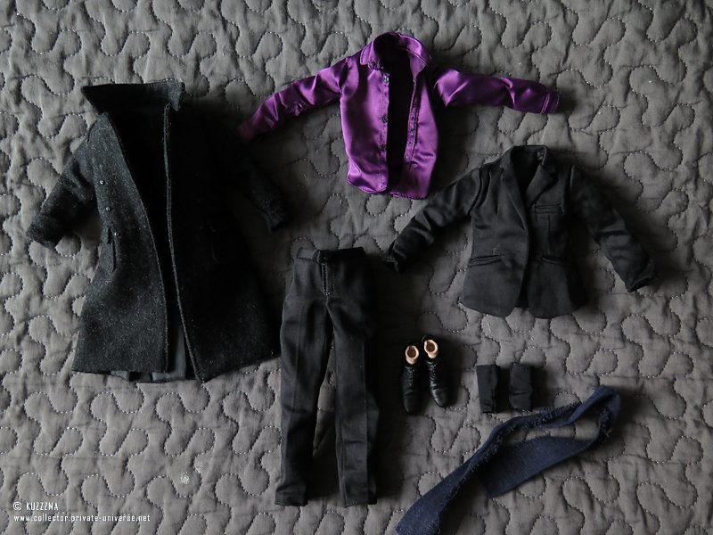 Sherlock Holmes outfit | contents