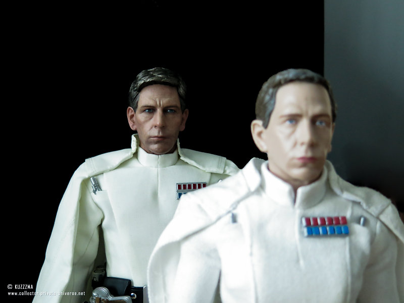 Hot Toys and Disney store versions of Orson Krennic
