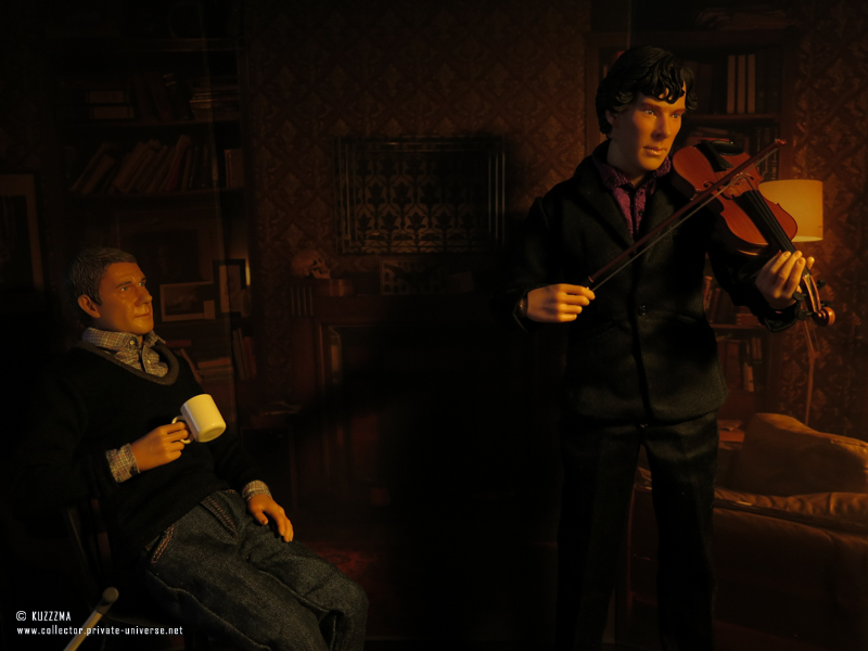 Sherlock (TV) action figures